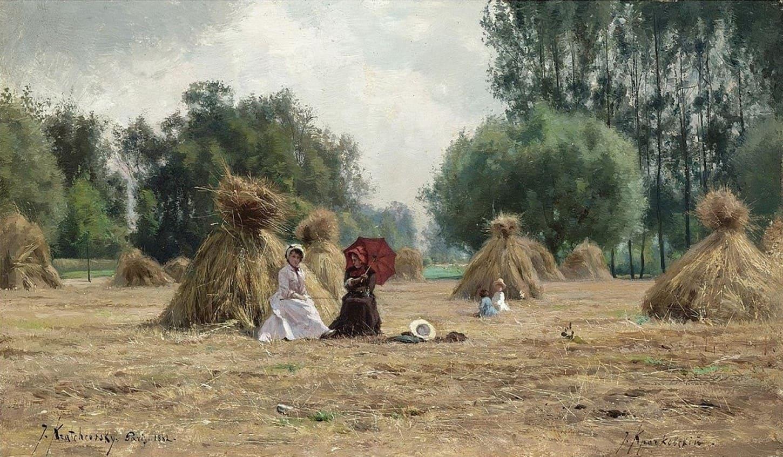Художник Иосиф Крачковский (1854 – 1914). Лирическая поэзия живописи