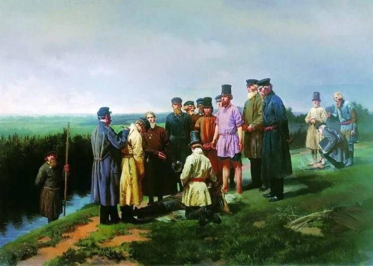 художник Николай Дмитриев-Оренбургский картины – 04