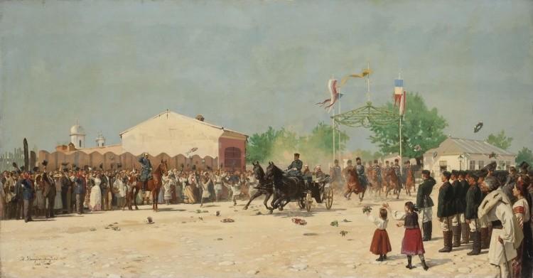 художник Николай Дмитриев-Оренбургский картины – 05
