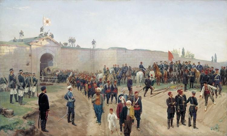художник Николай Дмитриев-Оренбургский картины – 06