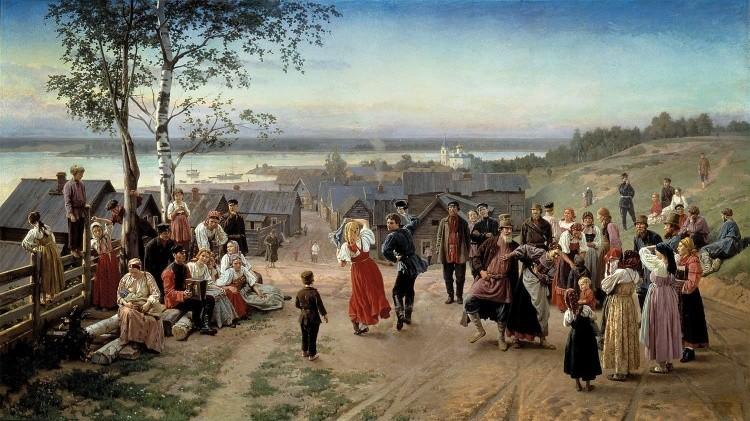 художник Николай Дмитриев-Оренбургский картины – 08