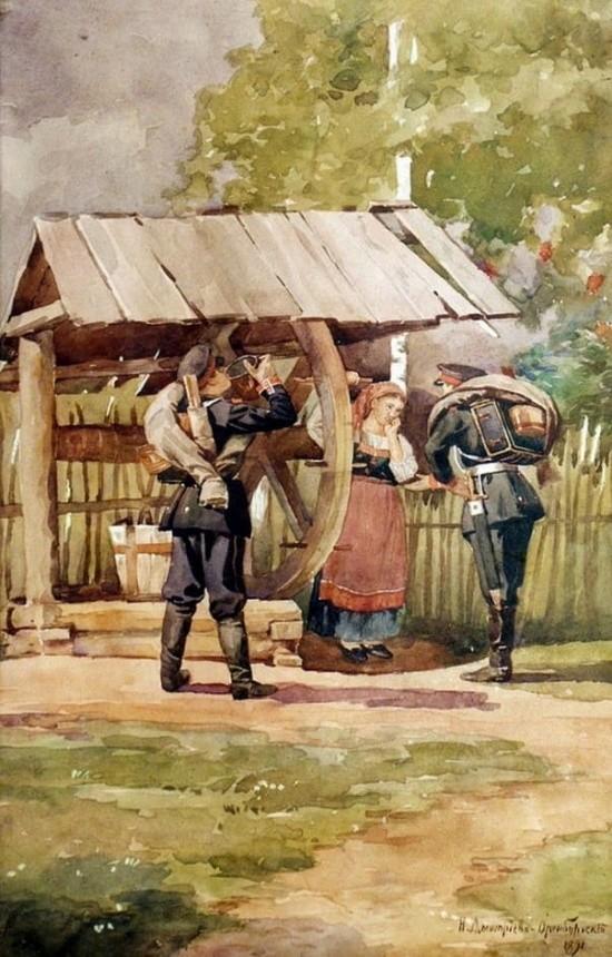 художник Николай Дмитриев-Оренбургский картины – 13