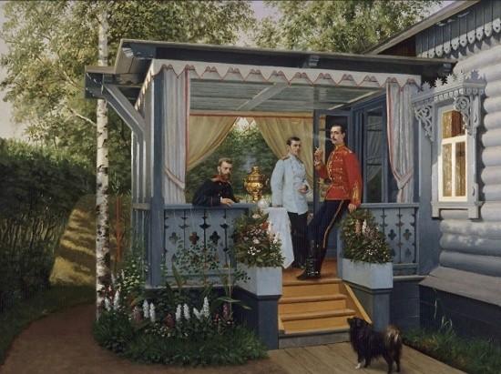художник Николай Дмитриев-Оренбургский картины – 17