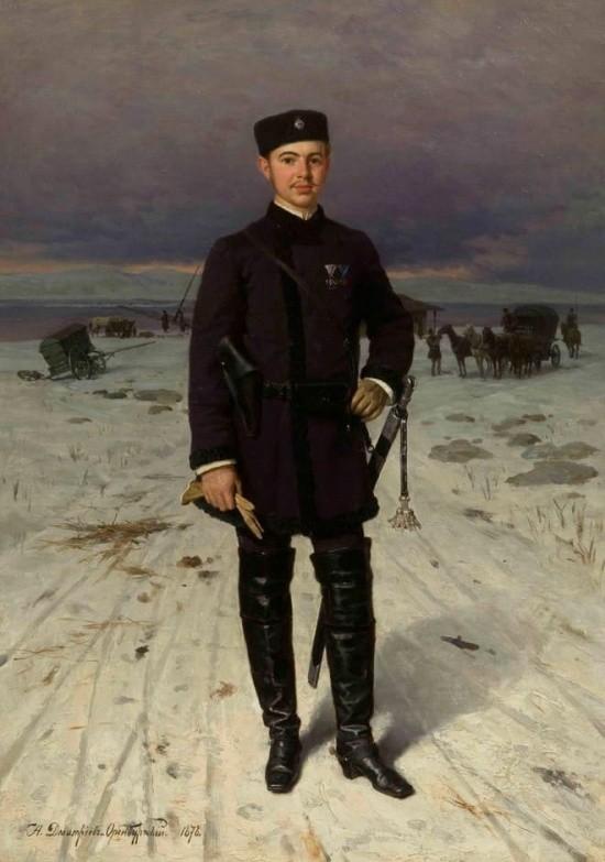 художник Николай Дмитриев-Оренбургский картины – 18