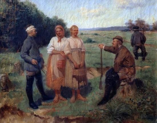 художник Николай Дмитриев-Оренбургский картины – 22