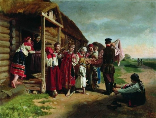 художник Николай Дмитриев-Оренбургский картины – 24