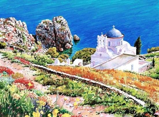 художник Пантелис Зографос (Pantelis Zografos) картины – 18