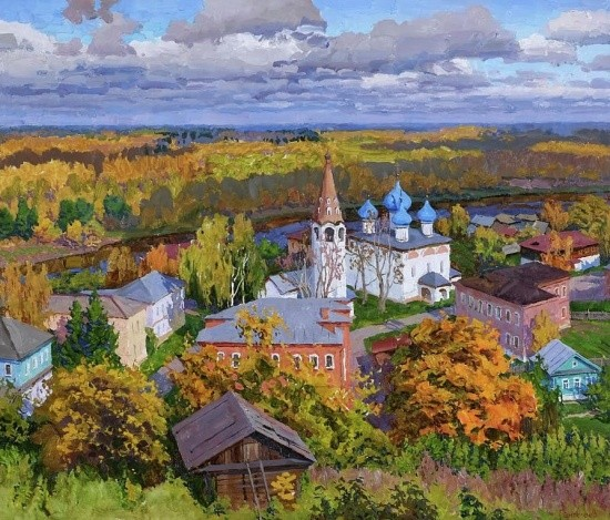 художник Сергей Пантелеев картины – 11