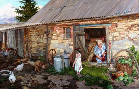 художник Сергей Пантелеев картины – 19