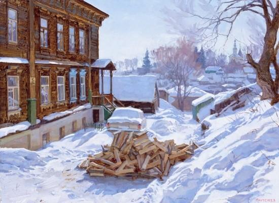 художник Сергей Пантелеев картины – 25