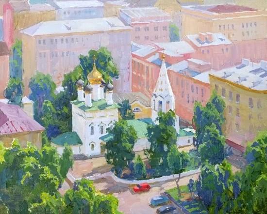 художник Сергей Пантелеев картины – 27