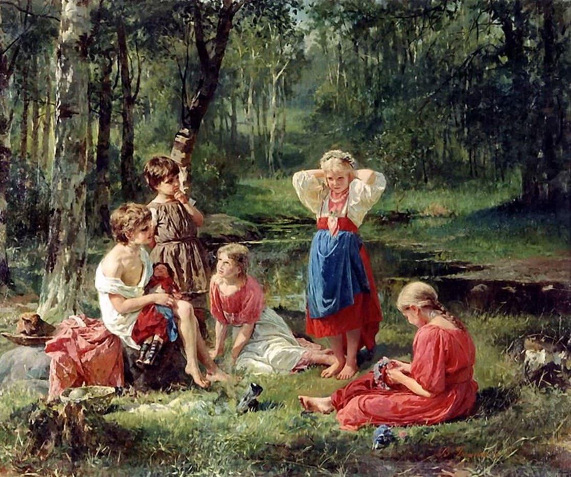 Художник Василий Голынский (1854 – 1904). Мастер русского академизма