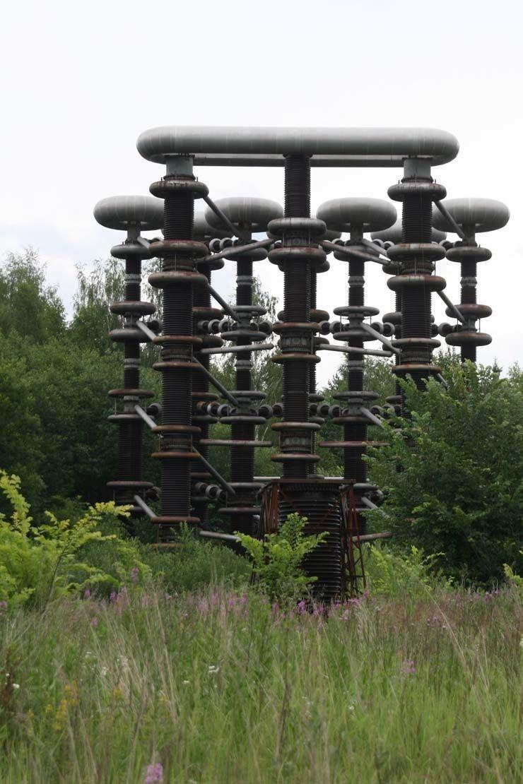 Башни Тесла в лесах Подмосковья