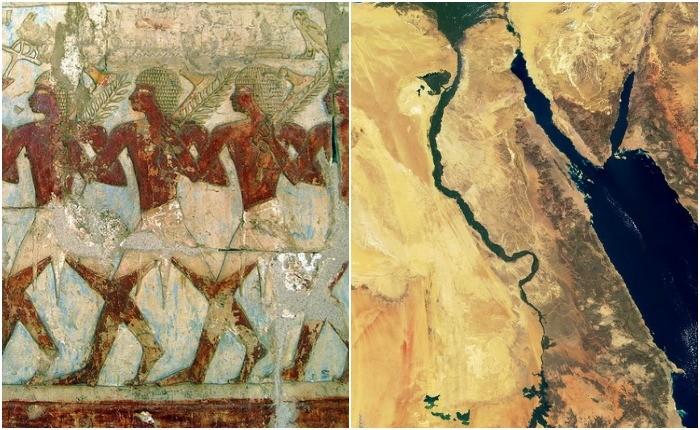 Откуда к древним египтянам пришли их боги