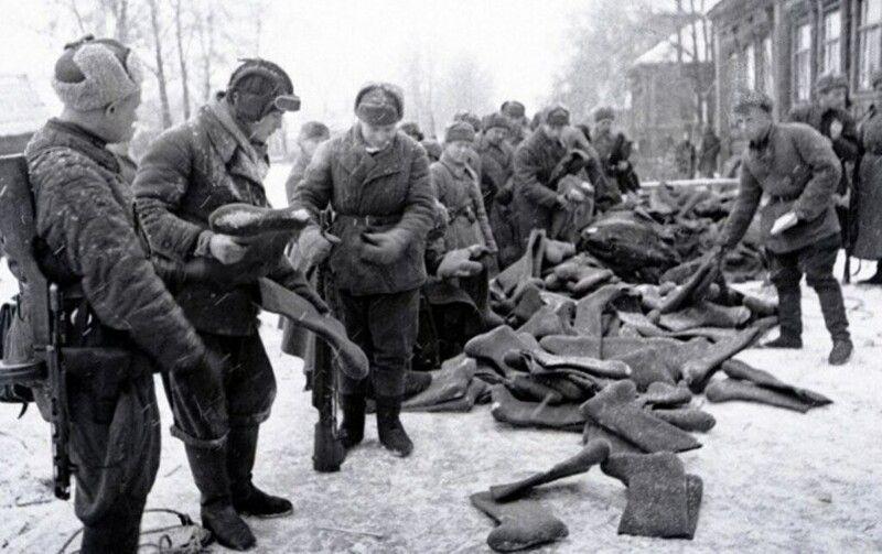 Как бойцы Красной армии выживали в -40 °C, ночуя на снегу