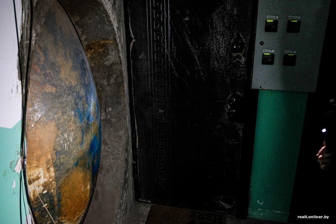 Загадочный бункер в минской пятиэтажке