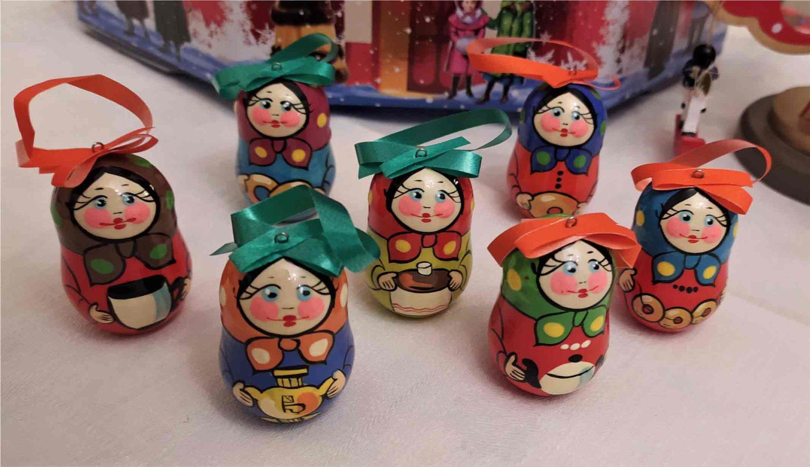 Со Старым Новым годом! Деревянные ёлочные игрушки