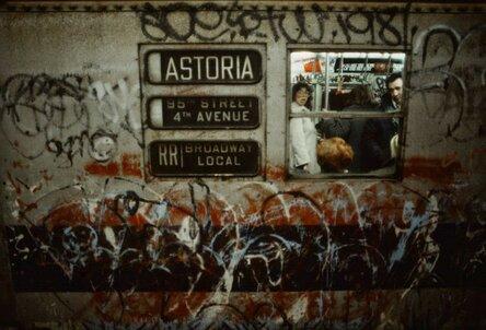 Ад нью-йоркской подземки 80-х