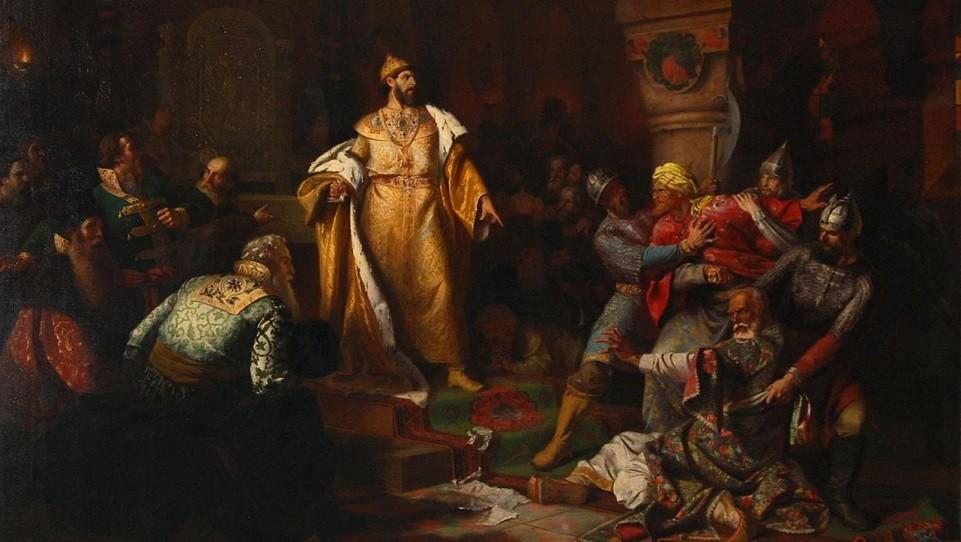 """Правление """"Государя Всея Руси"""" Ивана III и его отказ от титула короля предложенного императором Священной Римской империи"""