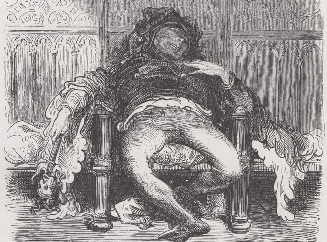 Трибуле — придворный шут королей Людовика XII и Франциска I.