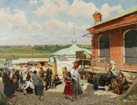 художник Александр Маковский картины – 03