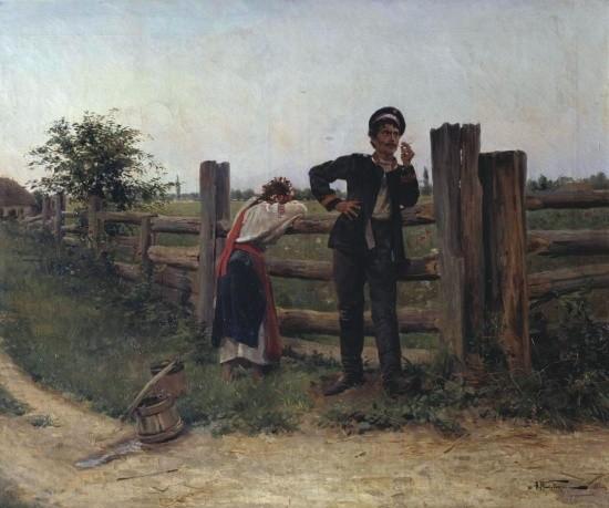 художник Александр Маковский картины – 17