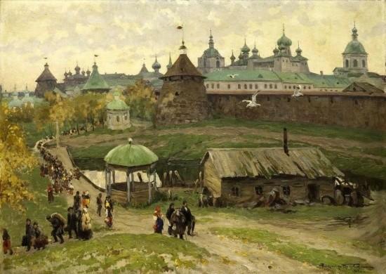 художник Александр Маковский картины – 19