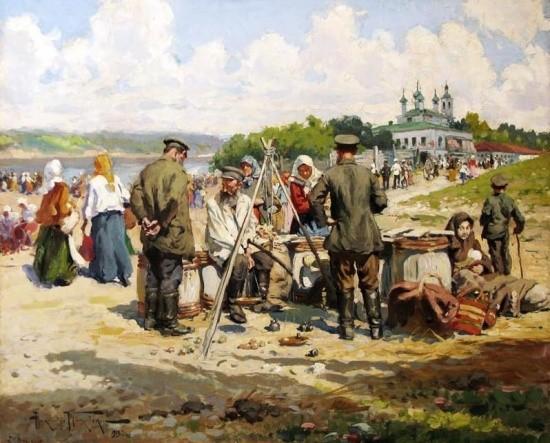 художник Александр Маковский картины – 23