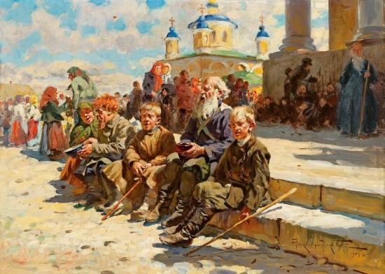 художник Александр Маковский картины – 24