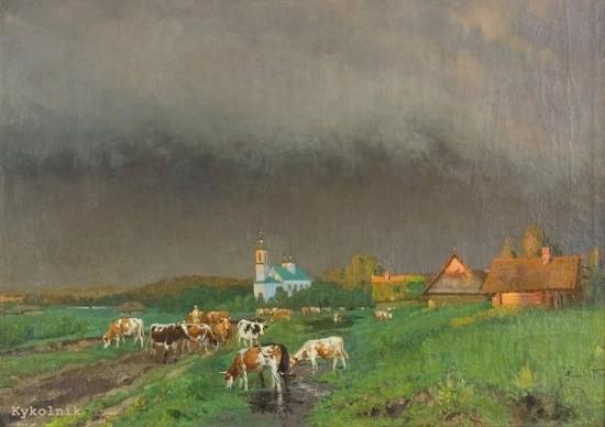 художник Александр Маковский картины – 26