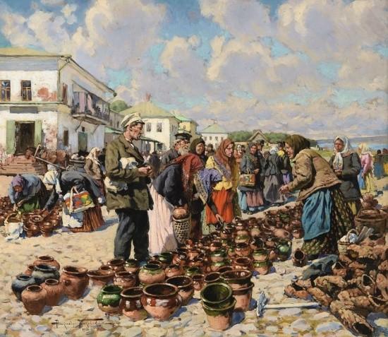 художник Александр Маковский картины – 31
