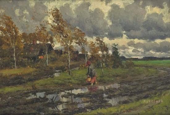 художник Александр Маковский картины – 39