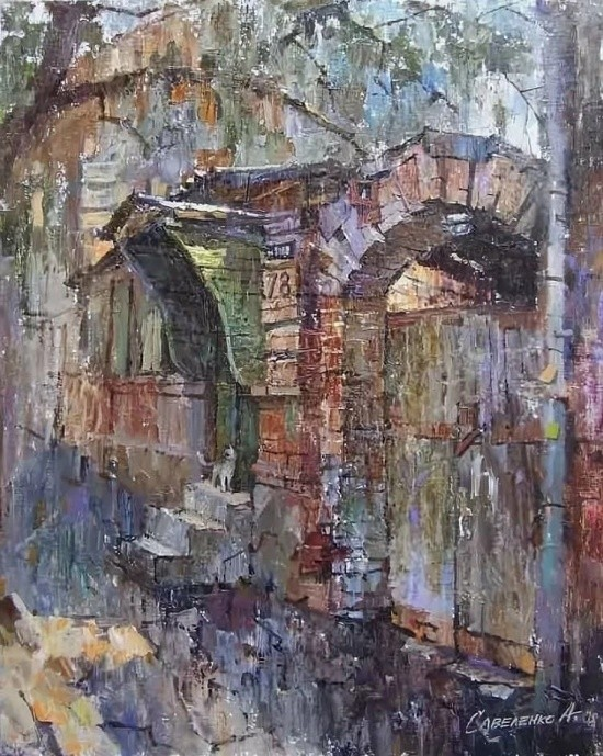 художник Александр Савеленко картины – 11