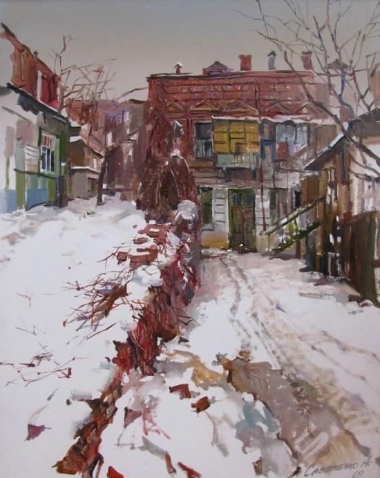 художник Александр Савеленко картины – 16