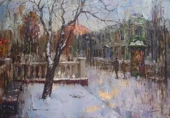 художник Александр Савеленко картины – 29