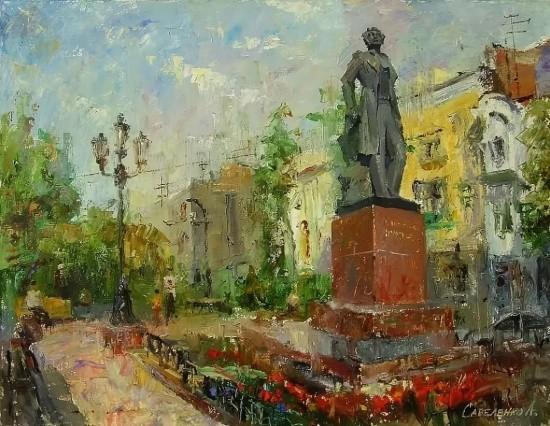 художник Александр Савеленко картины – 30