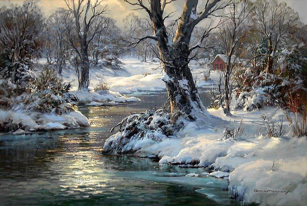 Художник Charles Vickery (1913 – 1998). Все цвета моря и неба