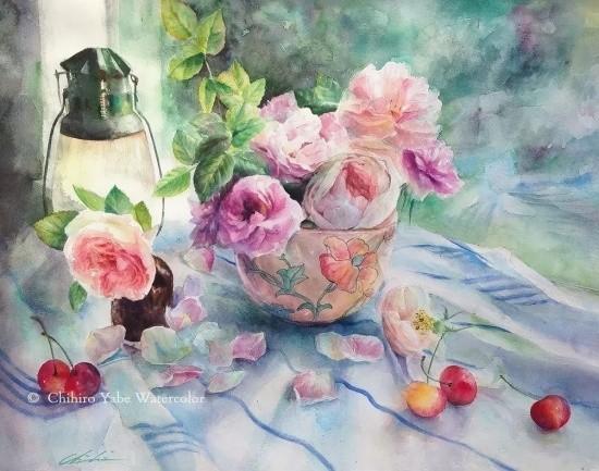 художник Чихиро Ябе (Chihiro Yabe) картины – 08