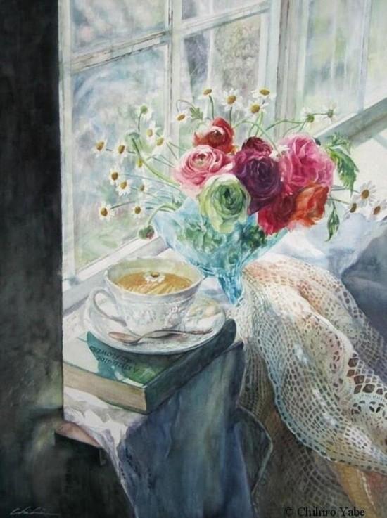 художник Чихиро Ябе (Chihiro Yabe) картины – 16