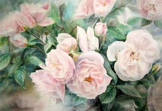 художник Чихиро Ябе (Chihiro Yabe) картины – 17