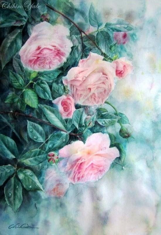 художник Чихиро Ябе (Chihiro Yabe) картины – 19