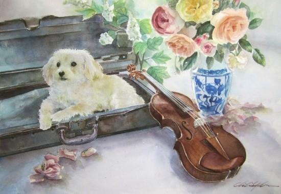 художник Чихиро Ябе (Chihiro Yabe) картины – 21
