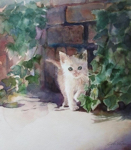 художник Чихиро Ябе (Chihiro Yabe) картины – 23