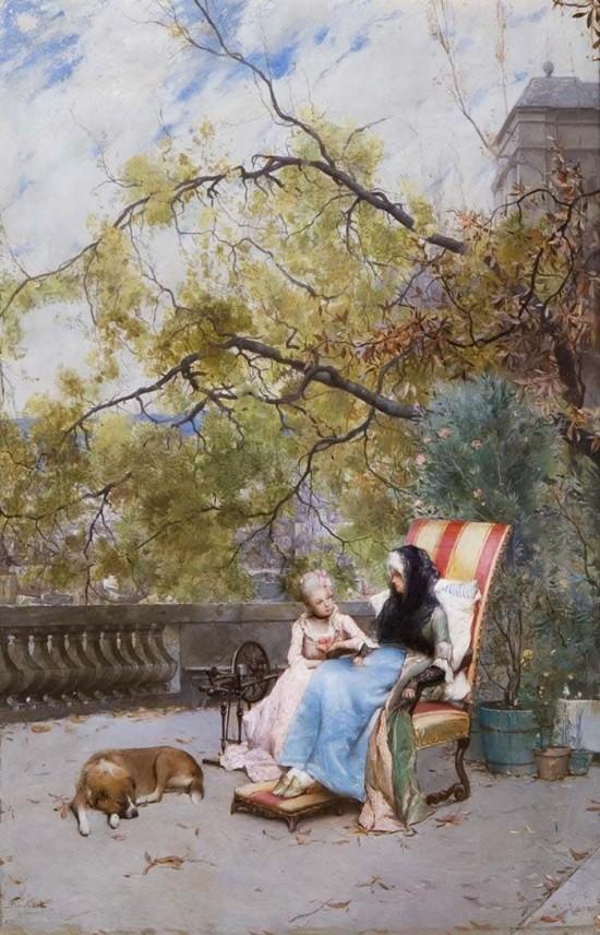 художник Auguste Emile Pinchart (Огюст-Эмиль Пинчарт) картины – 14