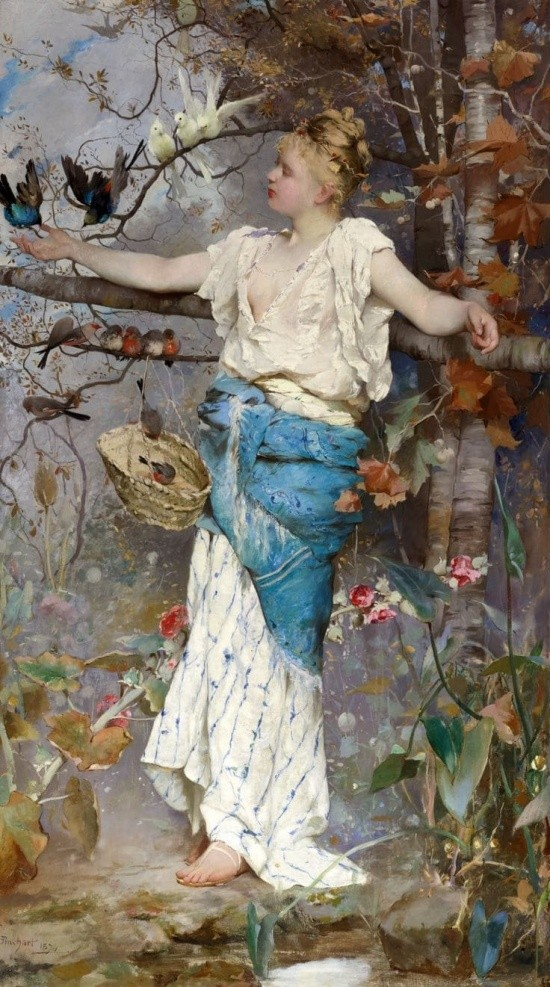 художник Auguste Emile Pinchart (Огюст-Эмиль Пинчарт) картины – 15