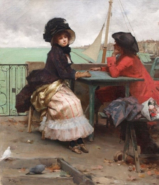 художник Auguste Emile Pinchart (Огюст-Эмиль Пинчарт) картины – 19