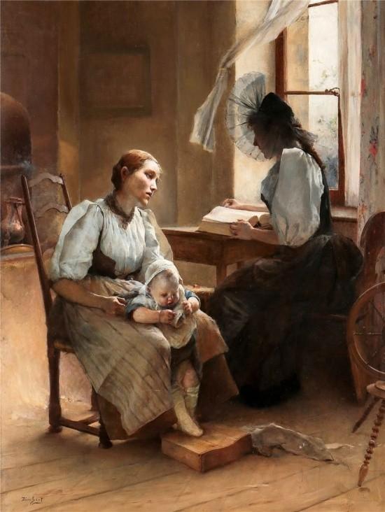 художник Auguste Emile Pinchart (Огюст-Эмиль Пинчарт) картины – 23