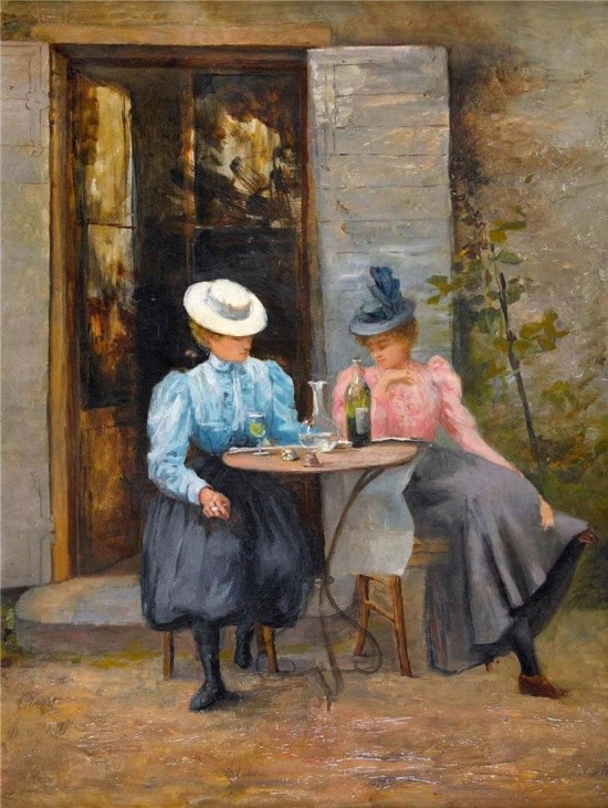 художник Auguste Emile Pinchart (Огюст-Эмиль Пинчарт) картины – 24