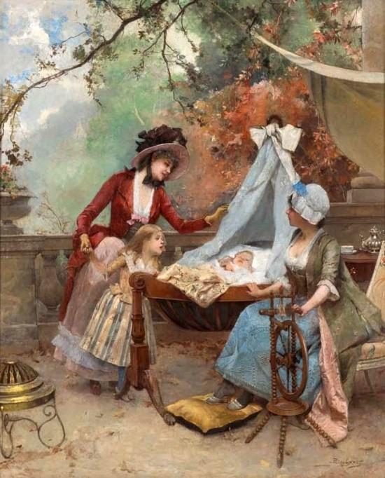 художник Auguste Emile Pinchart (Огюст-Эмиль Пинчарт) картины – 26