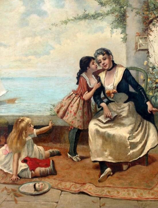 художник Auguste Emile Pinchart (Огюст-Эмиль Пинчарт) картины – 30